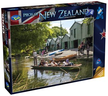 Picture of Holdson Puzzle - Pieces of New Zealand 4 1000pc (Punting On River Avon)