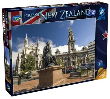 Picture of Holdson Puzzle - Pieces of New Zealand 4 1000pc (The Octagon Dunedin)