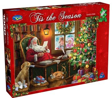 Picture of Holdson Puzzle - Tis The Season 1000pc (Santa's Mail)