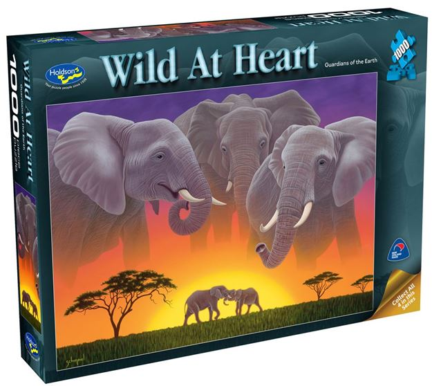 Picture of Holdson Puzzle - Wild At Heart 1000pc (Guardians Of The Earth)