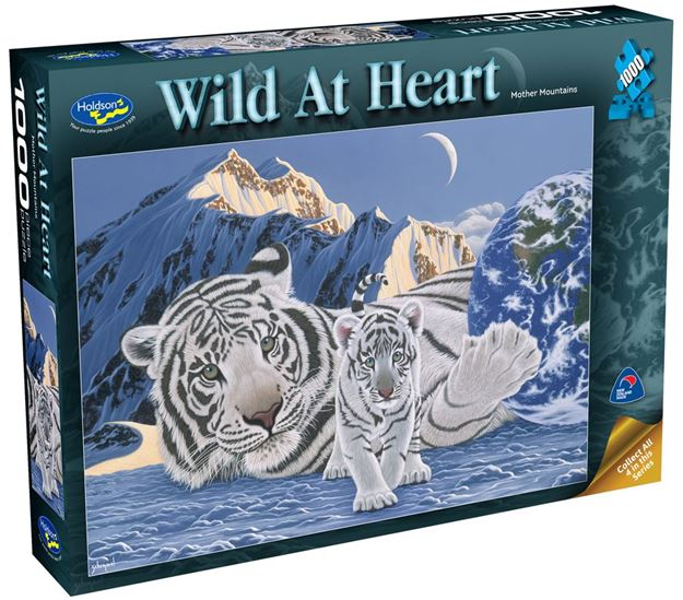 Picture of Holdson Puzzle - Wild At Heart 1000pc (Mother Mountain)