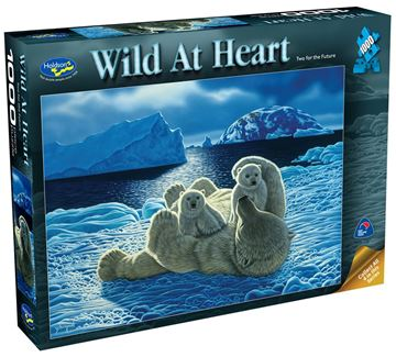 Picture of Holdson Puzzle - Wild At Heart 1000pc (Two For The Future)