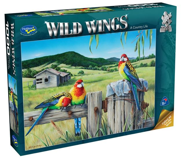 Picture of Holdson Puzzle - Wild Wings 1000pc (A Country Life)