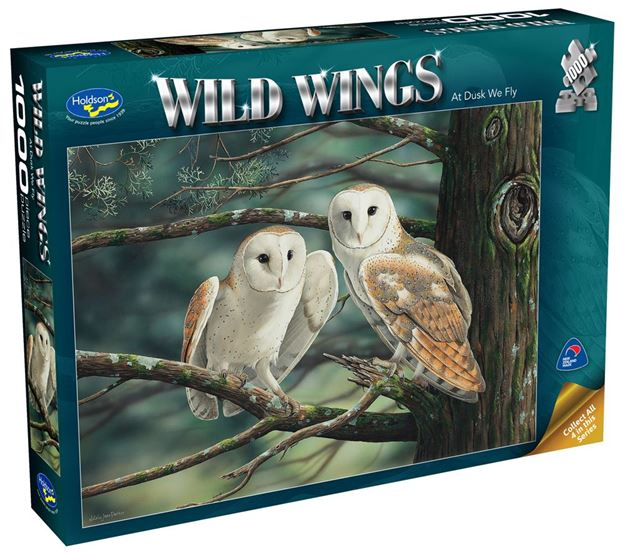 Picture of Holdson Puzzle - Wild Wings 1000pc (At Dusk We Fly)