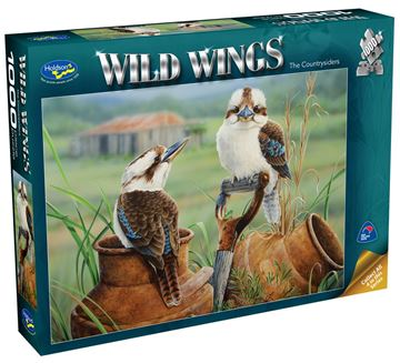 Picture of Holdson Puzzle - Wild Wings 1000pc (The Country-Siders)