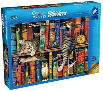 Picture of Holdson Puzzle - Wysocki Whiskers 1000pc (Frederick The Literate)