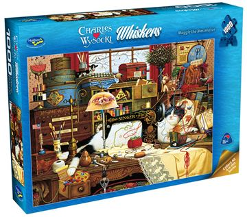 Picture of Holdson Puzzle - Wysocki Whiskers 1000pc (Maggie The Messmaker)