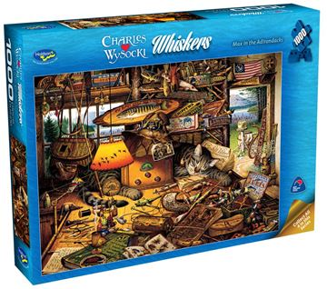Picture of Holdson Puzzle - Wysocki Whiskers 1000pc (Max In The Adirondacks)