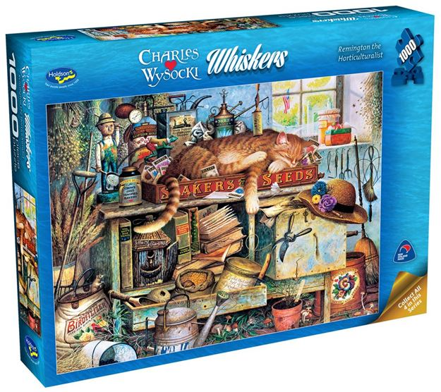 Picture of Holdson Puzzle - Wysocki Whiskers 1000pc (Remington The Horticulturalist)