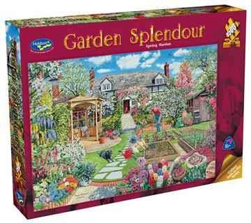 Picture of Holdson Puzzle - Garden Splendour 1500pc (Spring Garden)