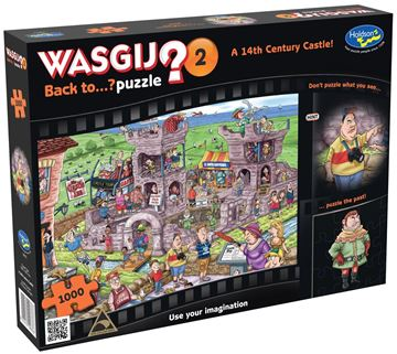 Picture of Holdson Puzzle - Wasgij Back To …? 2 1000pc (A 14th Century Castle)