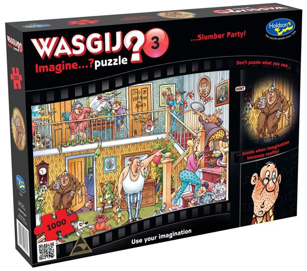 Picture of Holdson Puzzle - Wasgij Imagine 3 1000pc (Slumber Party)