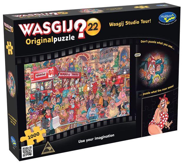 Picture of Holdson Puzzle - Wasgij Original 22 1000pc (Studio Tour)