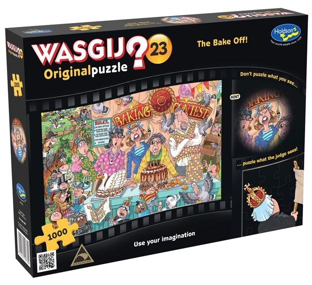 Picture of Holdson Puzzle - Wasgij Original 23 1000pc (The Bake Off)