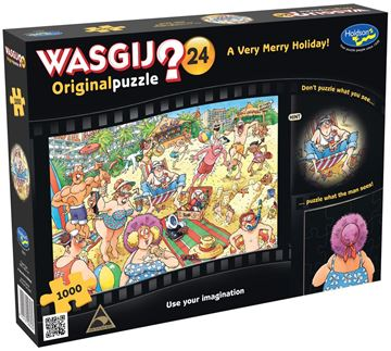 Picture of Holdson Puzzle - Wasgij Original 24 1000pc (A Very Merry Holiday)