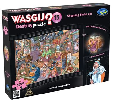 Picture of Holdson Puzzle - Wasgij Destiny 15 1000pc (Shopping Shake Up)