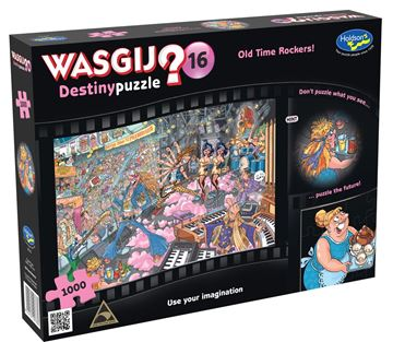 Picture of Holdson Puzzle - Wasgij Destiny 16 1000pc (Old Time Rockers)