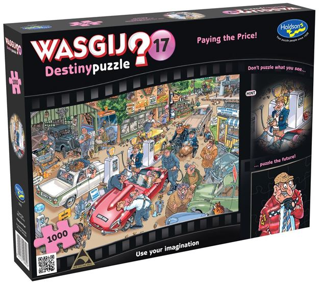 Picture of Holdson Puzzle - Wasgij Destiny 17 1000pc (Paying The Price)