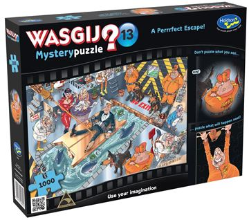 Picture of Holdson Puzzle - Wasgij Mystery 13 1000pc (A Perrfect Escape)