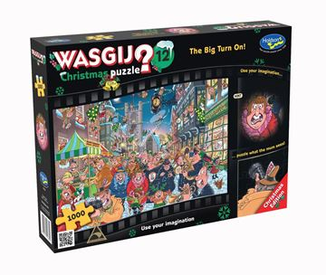 Picture of Holdson Puzzle - Wasgij Christmas 12 1000pc (The Big Turn On!)