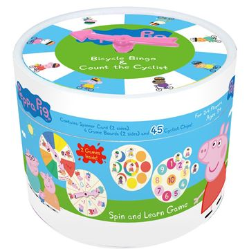 Picture of Game - Peppa Pig Spin & Learn