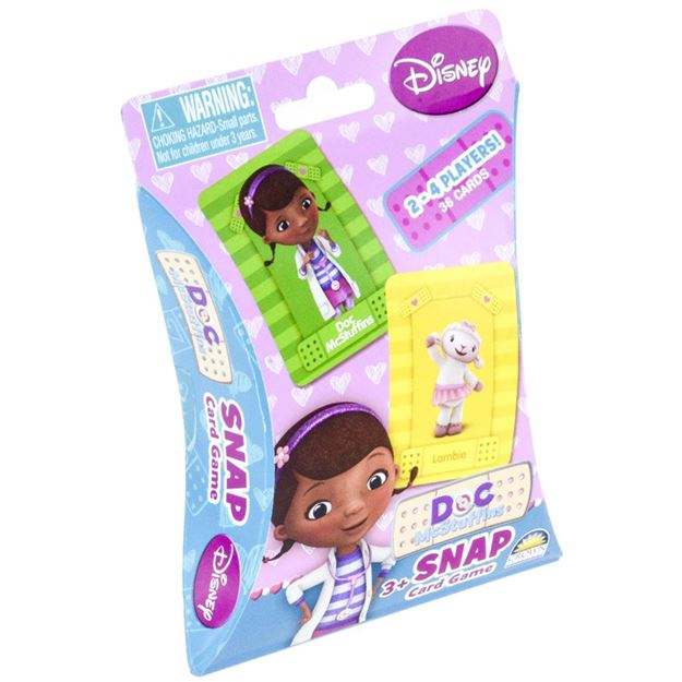 Picture of Game - Doc McStuffins Snap Cards