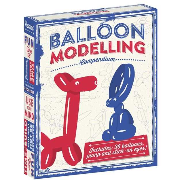 Picture of Professor Puzzle - Balloon Modelling Kit