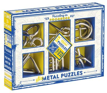 Picture of Professor Puzzle - Set of 6 Metal Puzzles
