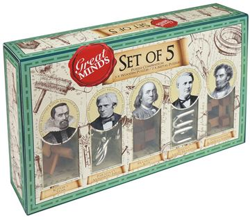 Picture of Professor Puzzle - Set Of 5 Genius Men