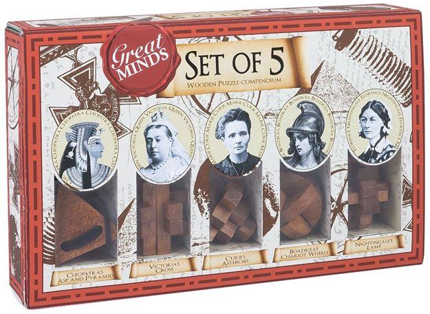 Picture of Professor Puzzle - Set Of 5 Genius Women