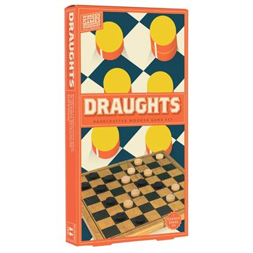 Picture of Professor Puzzle - Wooden Draughts