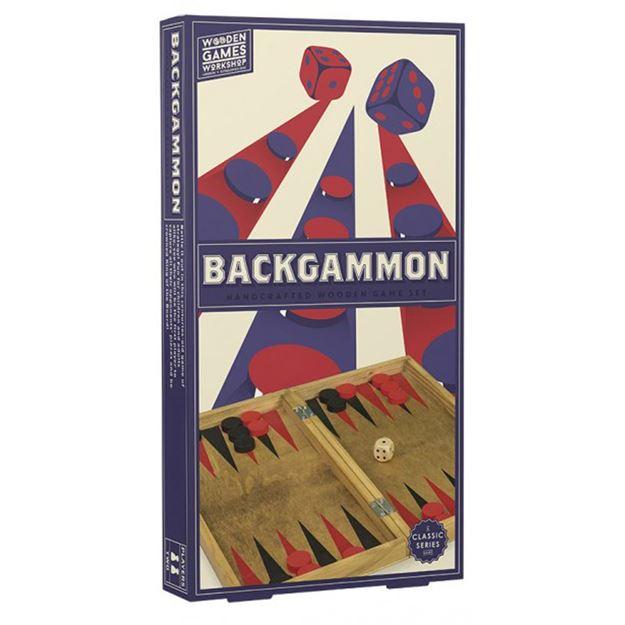 Picture of Professor Puzzle - Wooden Backgammon