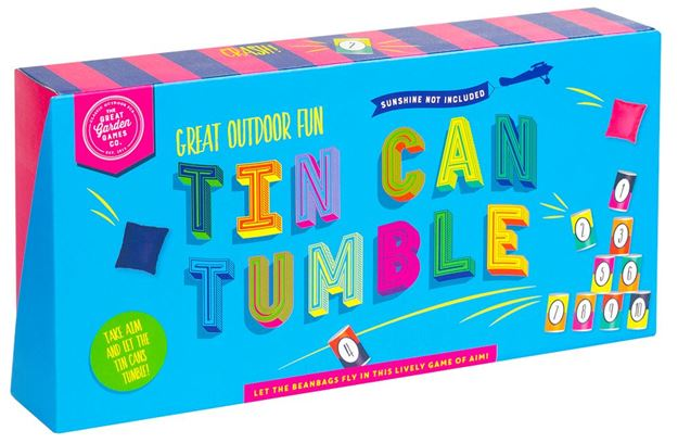 Picture of Professor Puzzle - Tin Can Tumble (Outdoor Fun)