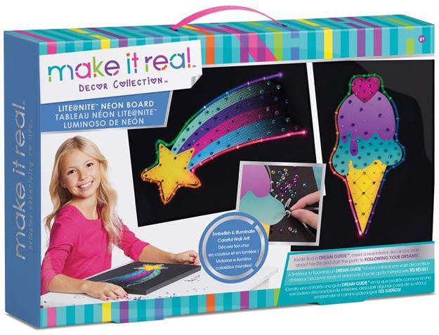 Picture of Make It Real - Lite @ Nite Neon Board