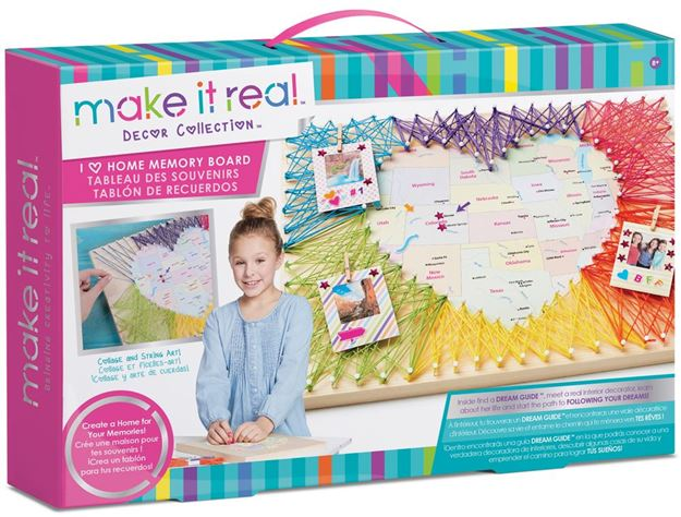 Picture of Make It Real - I Love Home Memory Board
