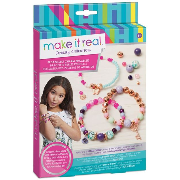 Picture of Make It Real - Pink Charm Bracelets