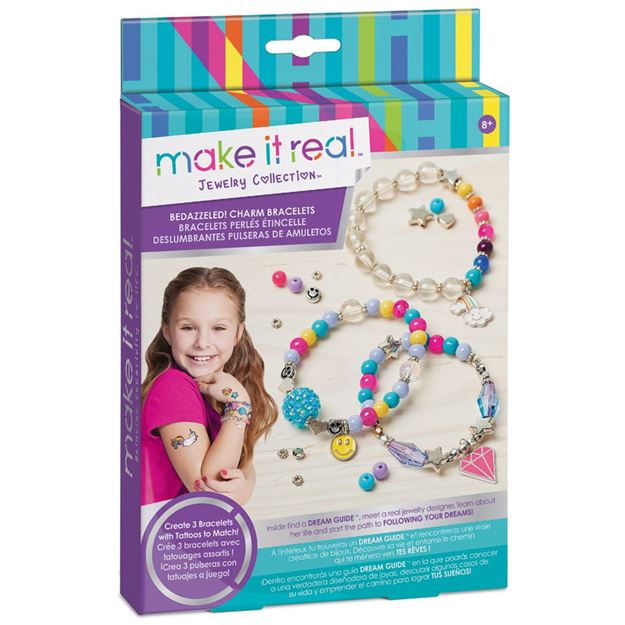 Picture of Make It Real - Charm Bracelets (Purple)