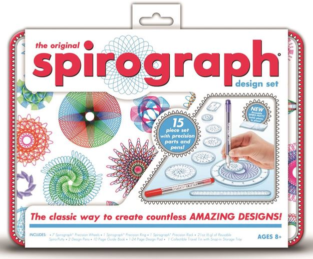 Picture of Spirograph - Tin Design Set