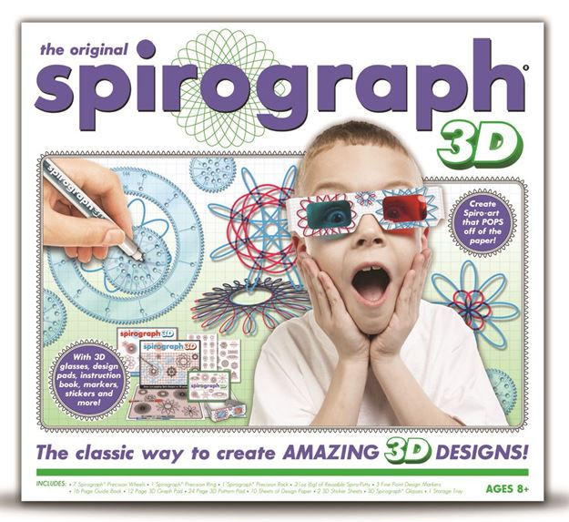Picture of Spirograph - 3D Design Set