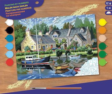 Picture of Paint By Numbers - Tranquil Waters