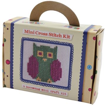 Picture of Buttonbag - Mini Cross Stitch Display (12)