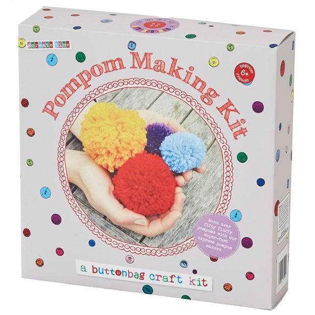 Picture of Buttonbag - Pom Pom Making Kit
