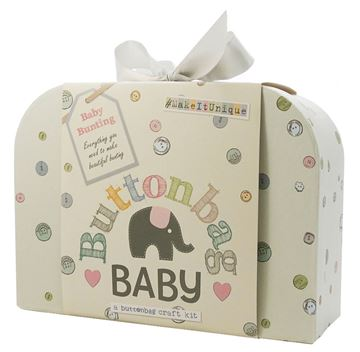 Picture of Buttonbag - Baby Nursery Bunting Kit