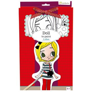 Picture of Avenue Mandarine - Dolls to Paint (Lilie)