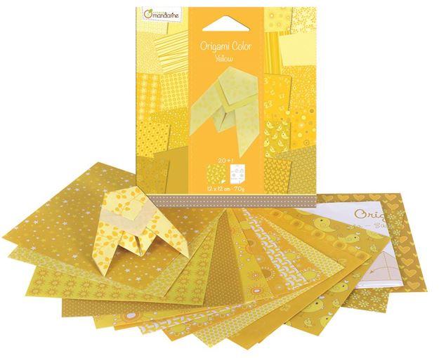 Picture of Avenue Mandarine - Cicada Origami Kits (Yellow)