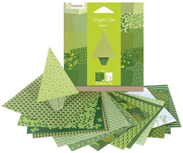 Picture of Avenue Mandarine - Tree Origami Kits (Green)