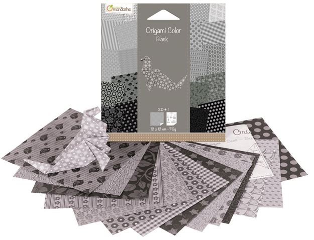 Picture of Avenue Mandarine - Seal Origami Kits (Black & White)