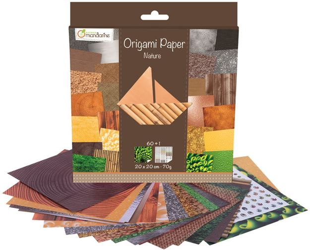 Picture of Avenue Mandarine - Origami Paper (Nature)