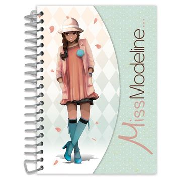 Picture of Avenue Mandarine - A6 Notepad & Design Book (Leila)