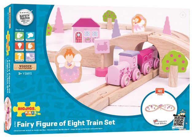 Picture of Bigjigs Rail - Fairy Figure of Eight Train Set